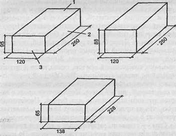Размеры кирпича обыкновенного » Починить крышу, сделать розетку ...